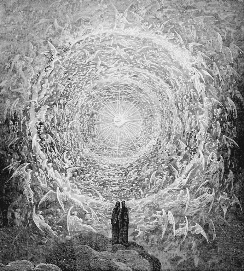Dore circle of angels