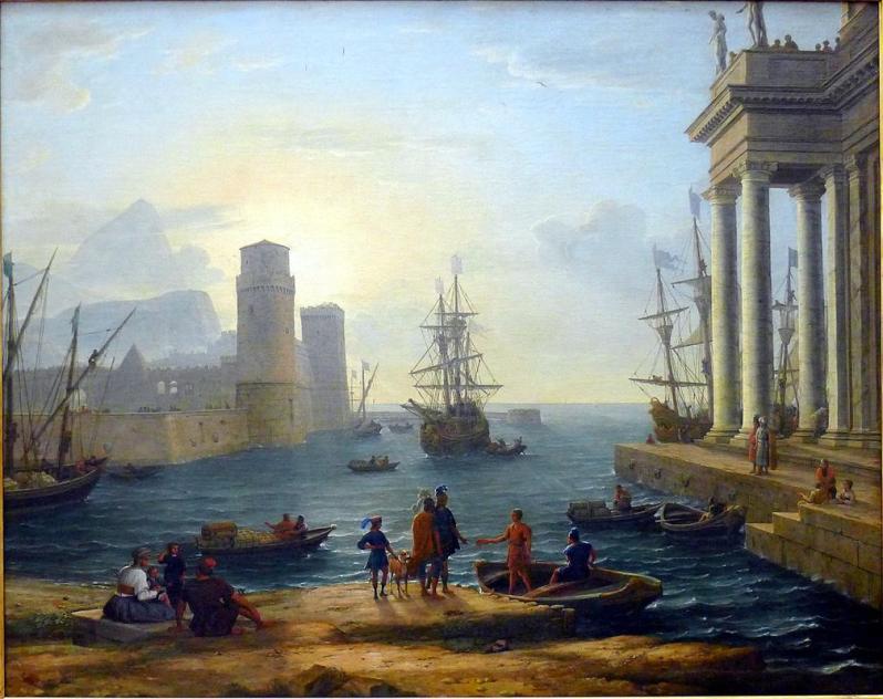 Embarkation of Ulysses