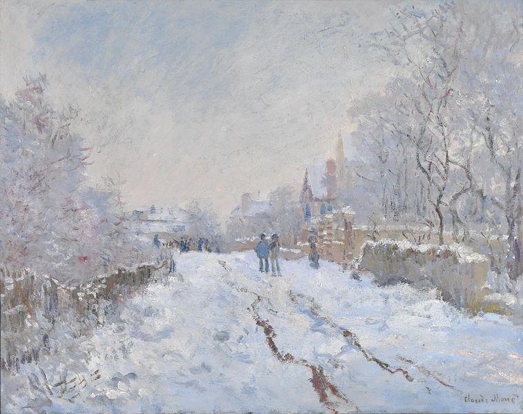 Monet_Snow_at_Argenteuil_1875