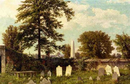 William Trost Richards - Leverington Cemetery