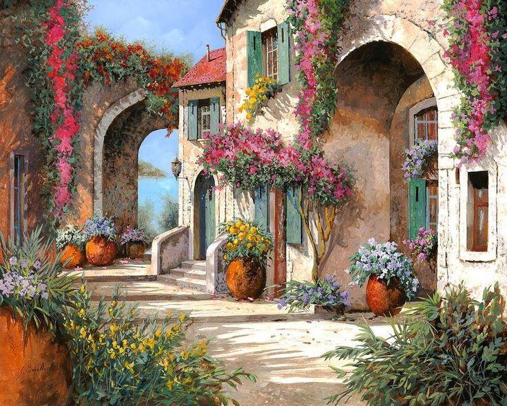 6877f358772fca694cdc3e74f0a99970--rustic-art-beautiful-paintings