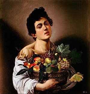 300px-Boy_with_a_Basket_of_Fruit-Caravaggio_(1593)