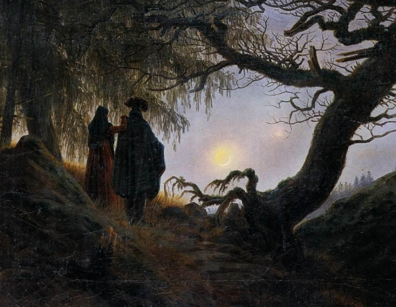 Caspar_David_Friedrich_-_Man_and_Woman_Contemplating_the_Moon_-_WGA08271