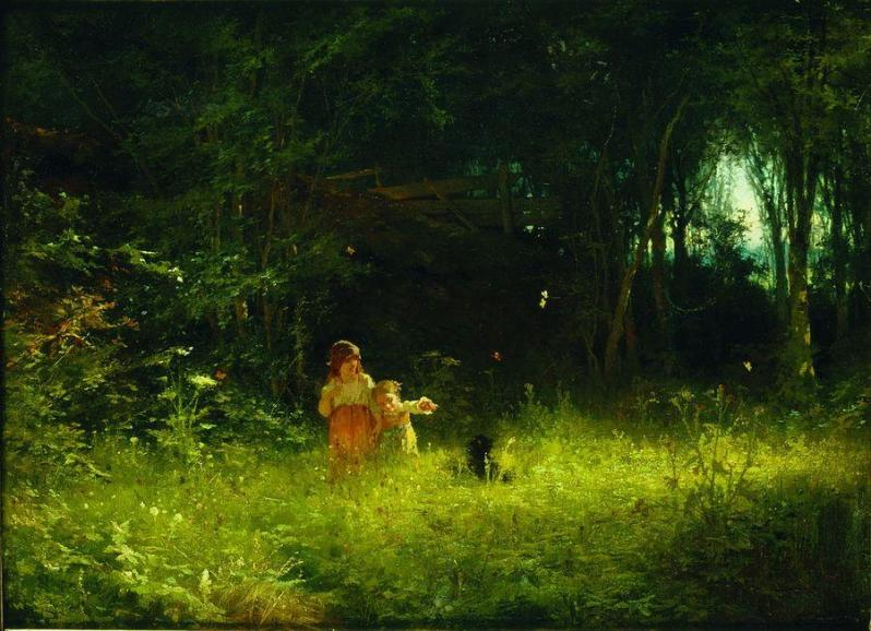 children-in-the-forest-1887